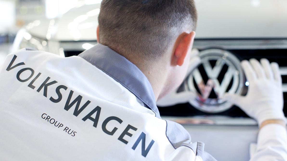 На российском заводе Volkswagen идёт забастовка