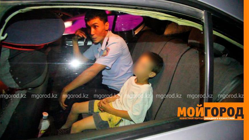 Мальчик из Уральска снова угнал автомобиль