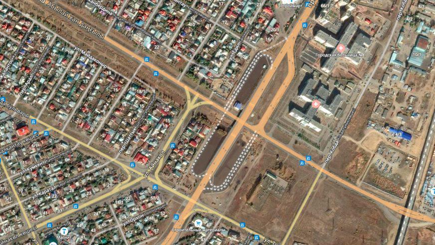 Как новые улицы меняют движение в Астане