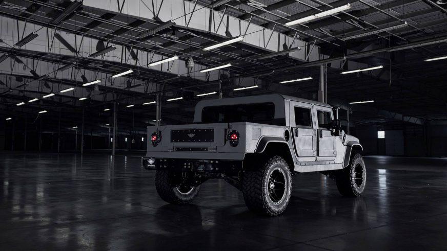В США соберут 12 уникальных Hummer H1 по 0 тысяч за каждый