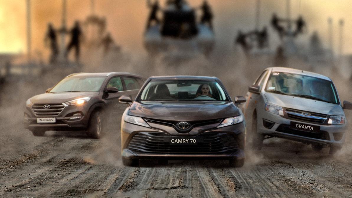 Toyota Camry лидирует на рынке третий месяц подряд