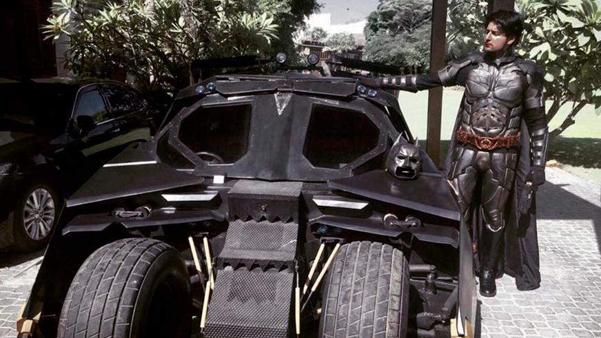 Cамый большой поклонник Бэтмена в Пакистане