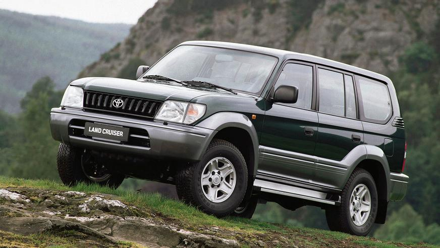 1996 год — Toyota Land Cruiser Prado (90)