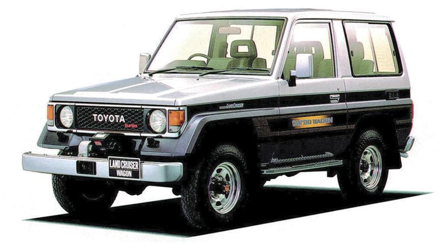 1987 год — Toyota Land Cruiser Prado (70)