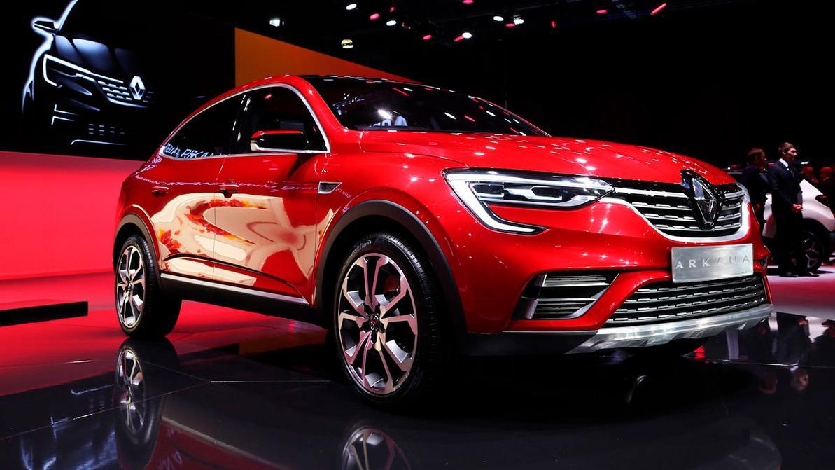 Встречайте, Renault Arkana!