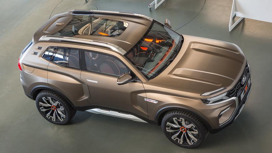 Как будет выглядеть будущая Lada 4x4?