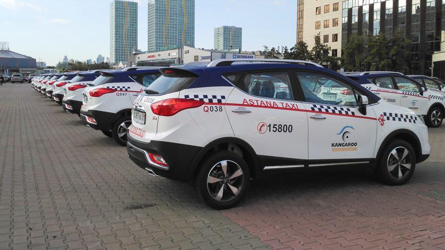 В столичном такси будут работать JAC S3