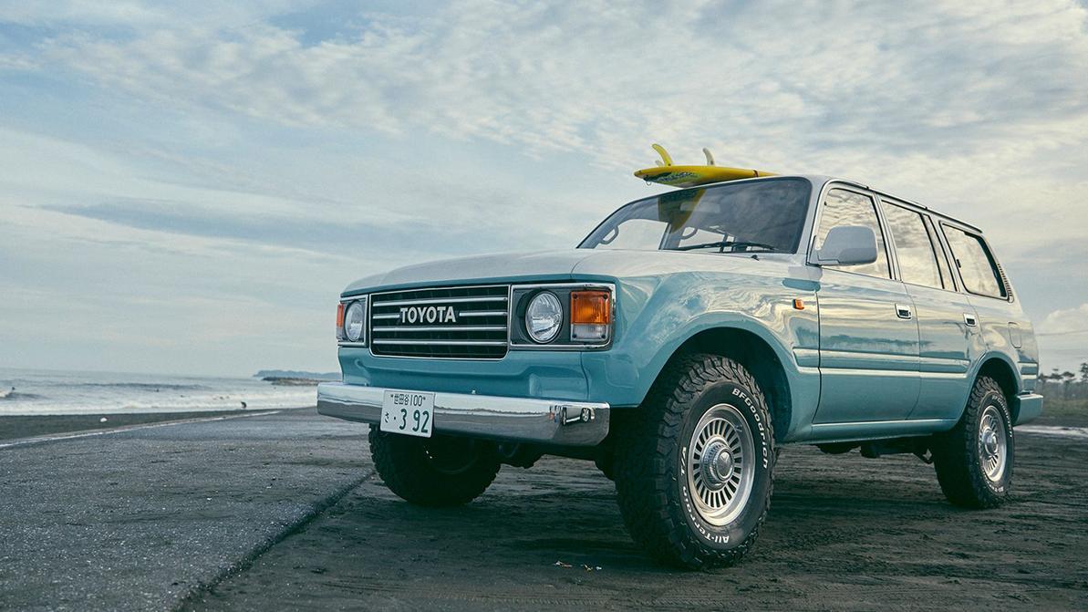 Необычный тюнинг Toyota Land Cruiser из Японии