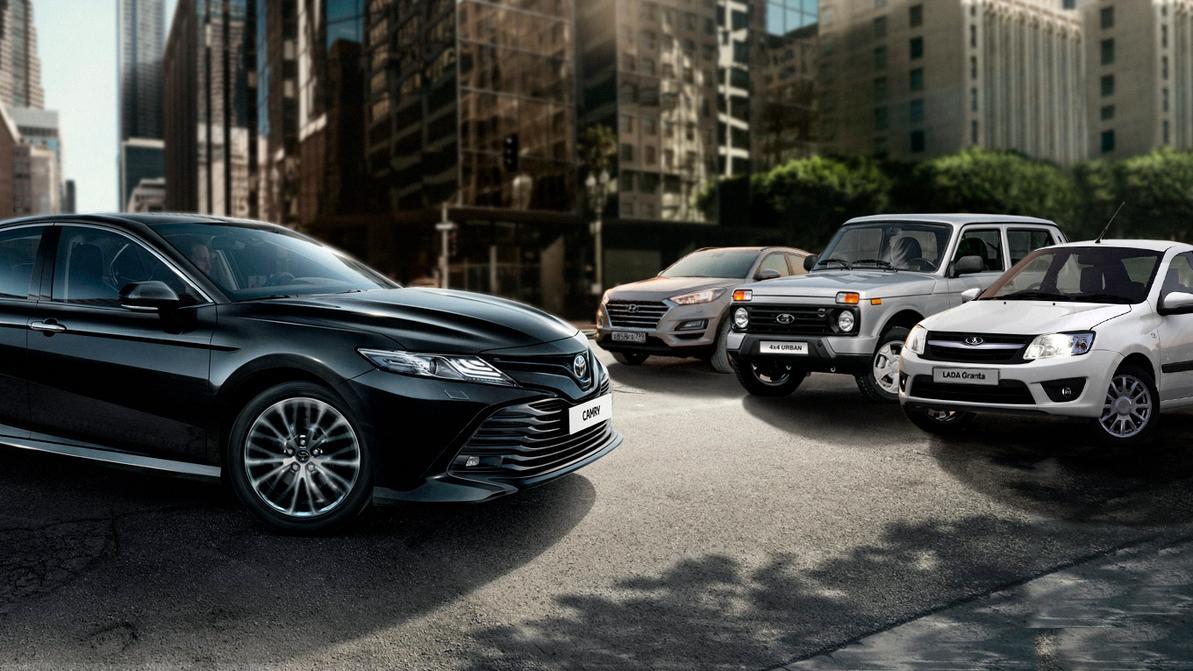Рынок новых автомобилей в августе: Camry, Grantа и Tucson