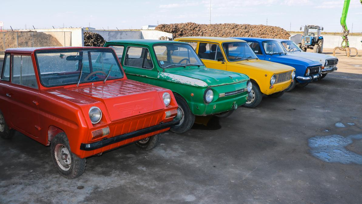Музей советского автопрома откроют на заводе по утилизации
