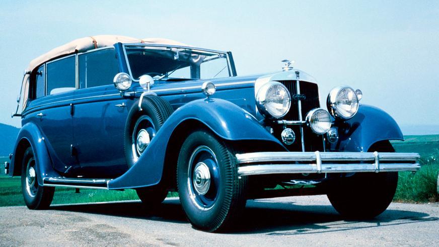 Horch 850 Pullman Cabriolet