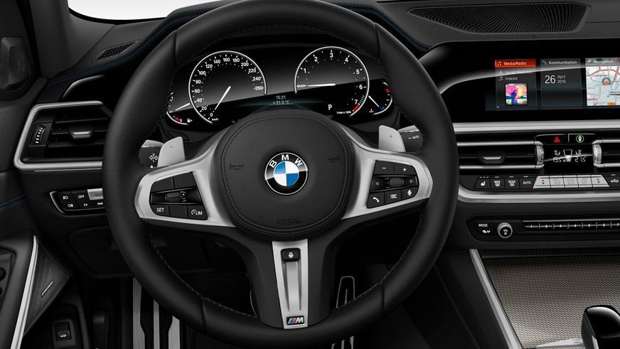 Дизайн «тройки» BMW G20 раскрыли в Сети