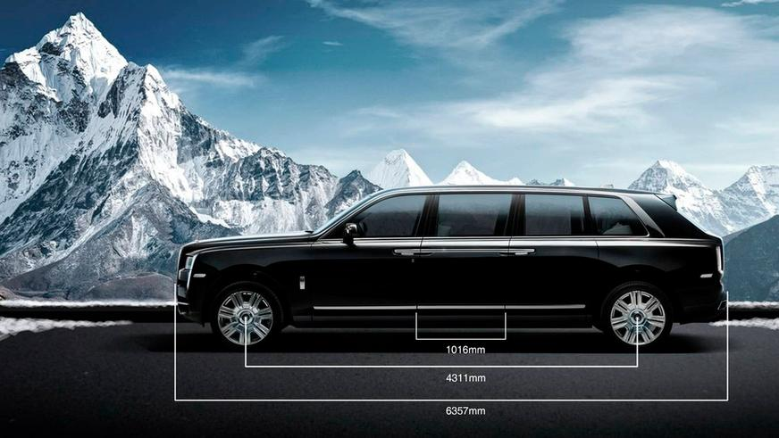 Как выглядит Rolls-Royce Cullinan за два миллиона долларов?