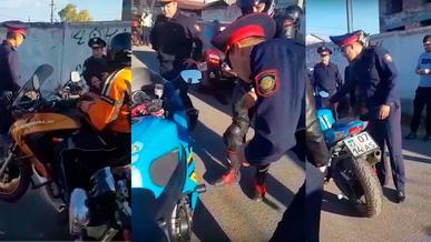 Полицейские на слух пытались определить громкость мотоциклов