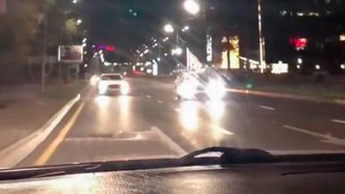 Ездил по встречке на Аль-Фараби: водителя уже ищет полиция