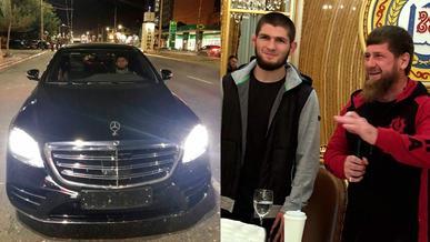 Хабиб принял от Кадырова новый Mercedes-Benz S-Class