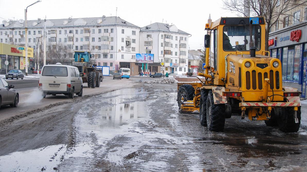 В Астане очистят от снега дороги и дворы