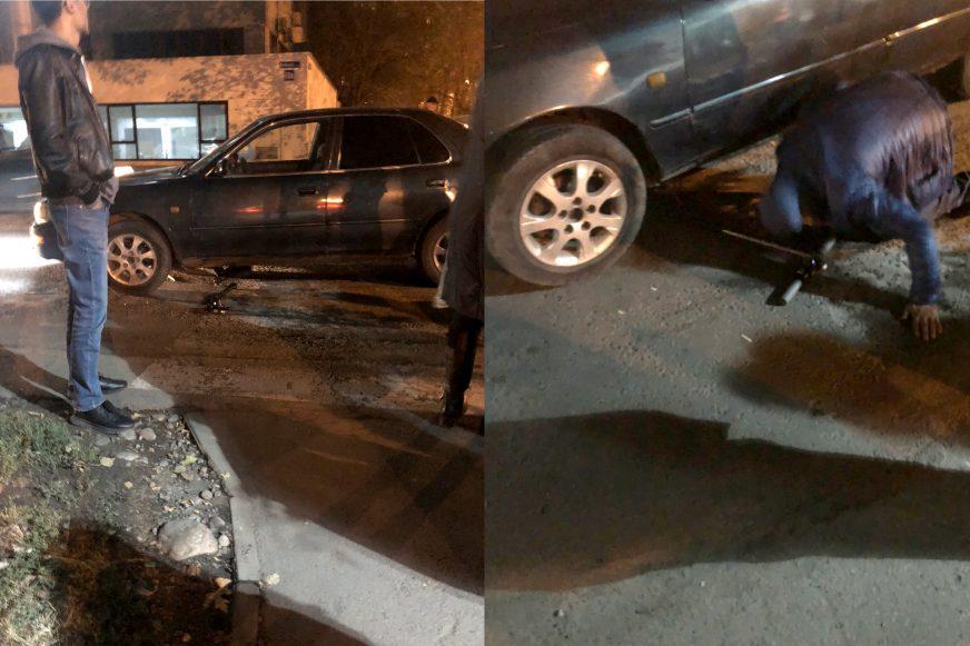 Женщину на электросамокате сбили в Алматы