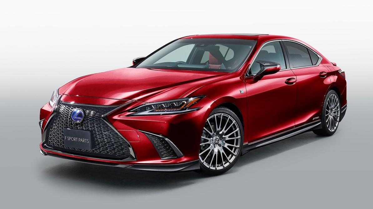 Новый Lexus ES получил версию TRD