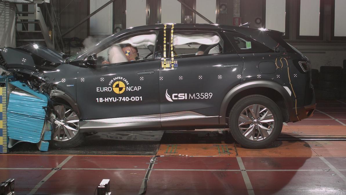 Водородный Hyundai Nexo побывал в гостях у EuroNCAP