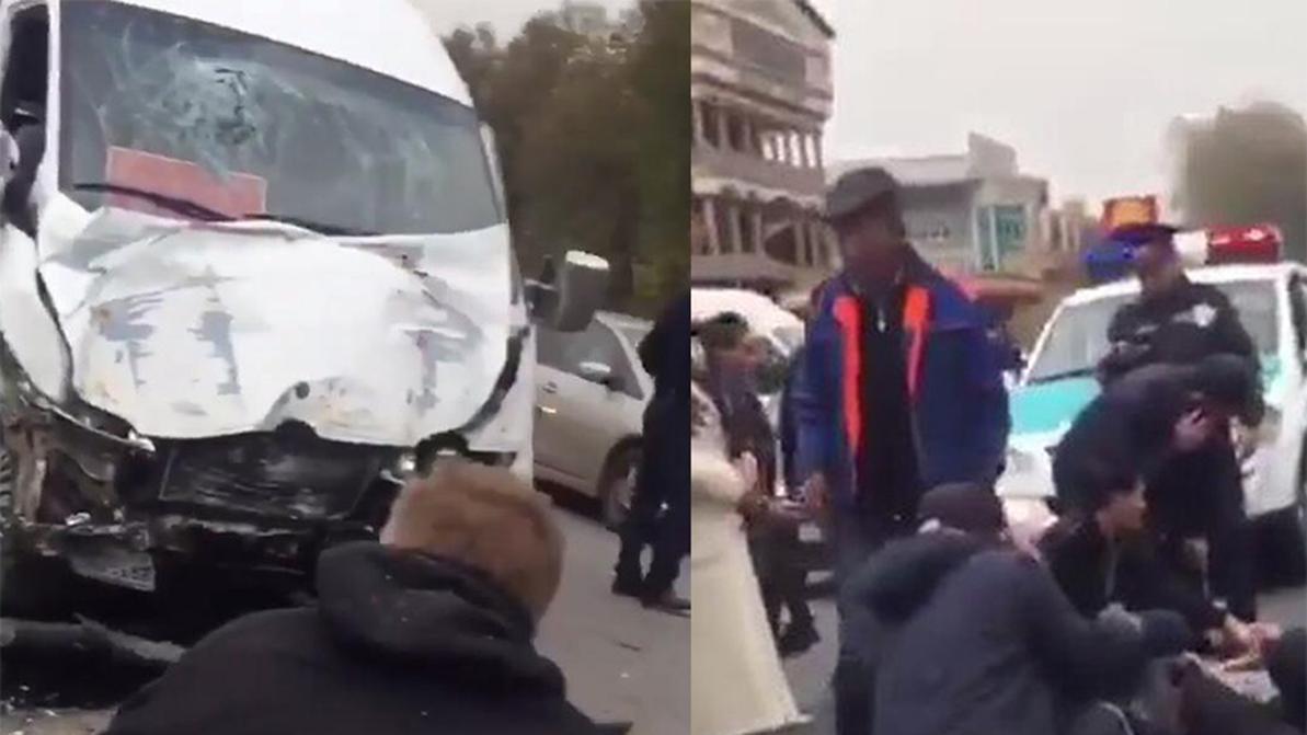 ДТП на трассе Алматы – Бишкек: 21 человек пострадал