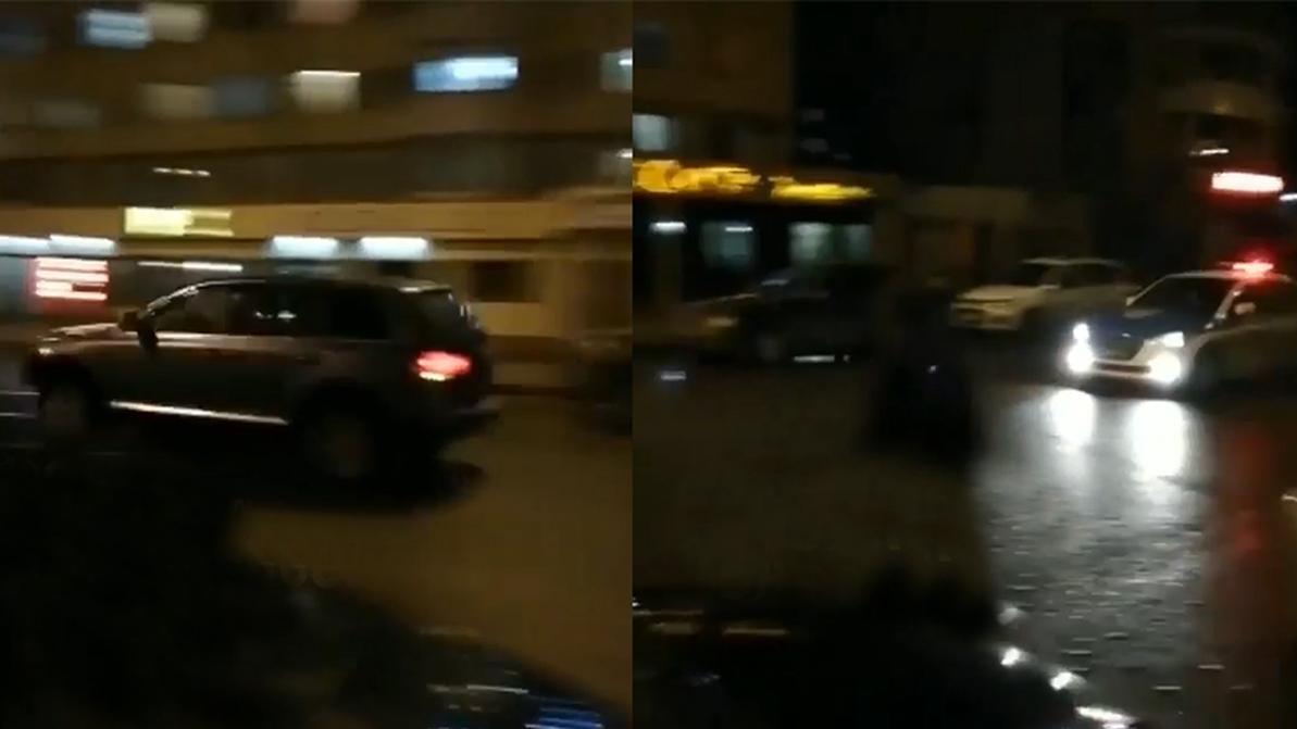 В Астане при задержании водителя полицейские устроили погоню со стрельбой