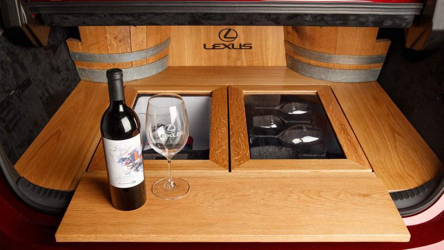 Lexus собрал уникальный «винный» ES