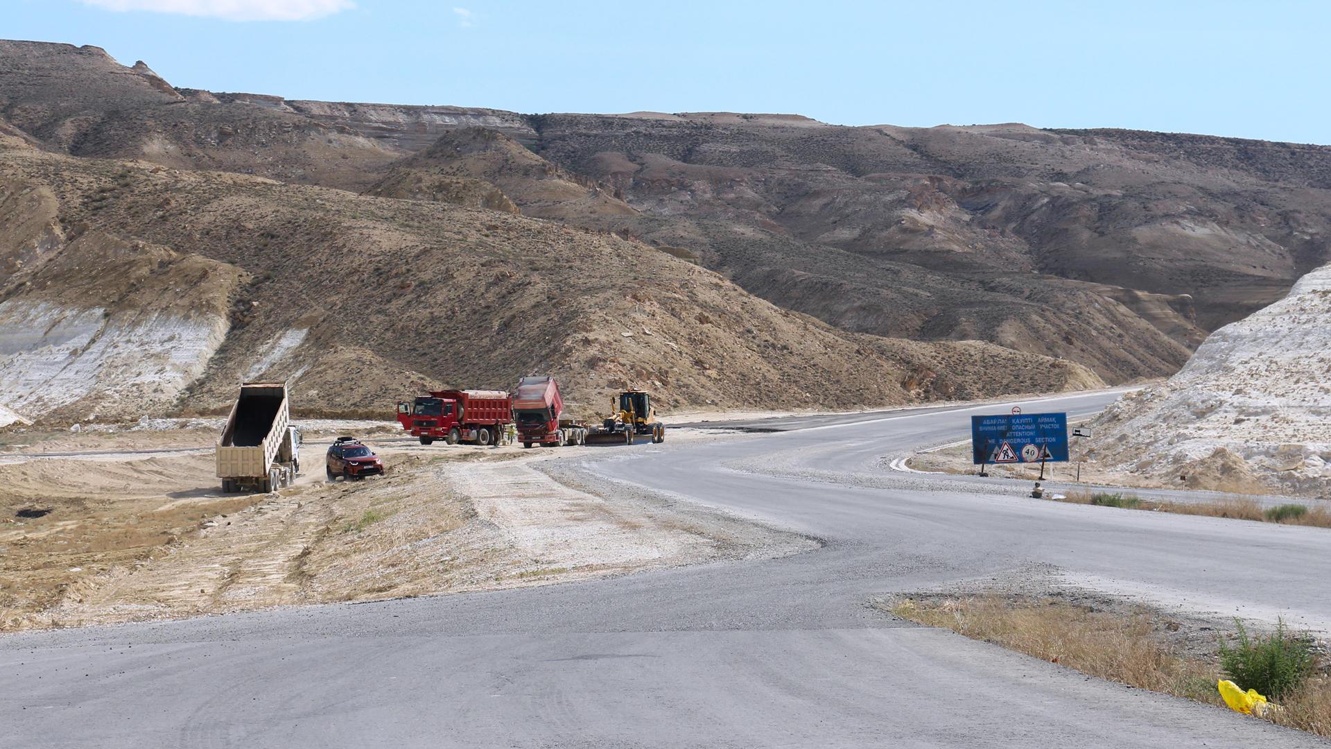 Реконструкция автомобильной дороги Атырау – Актау завершилась
