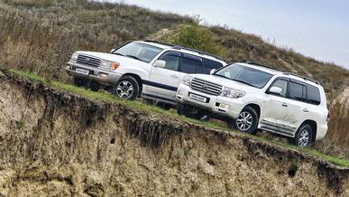 Toyota Land Cruiser 100, 200