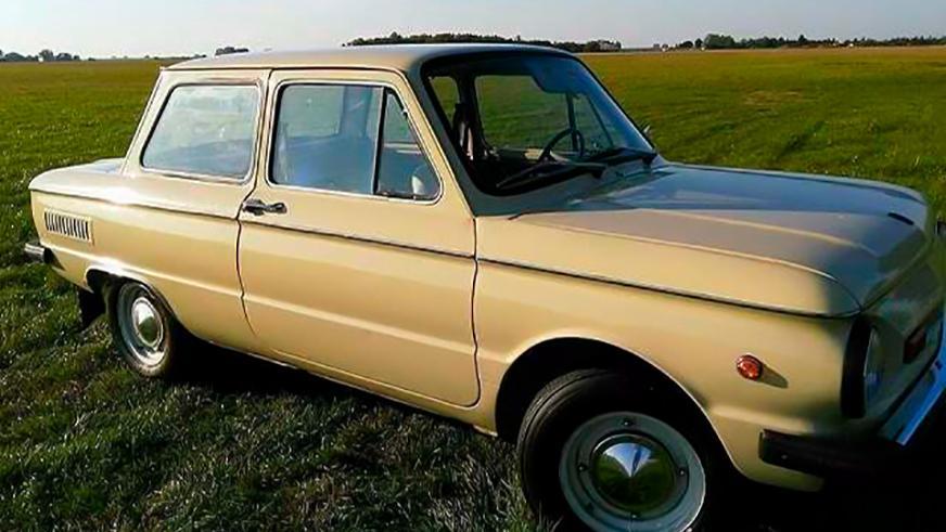В 30 тысяч евро оценили ЗАЗ-968М
