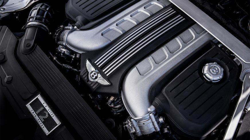 Bentley Continental GT - 2018 - двигатель