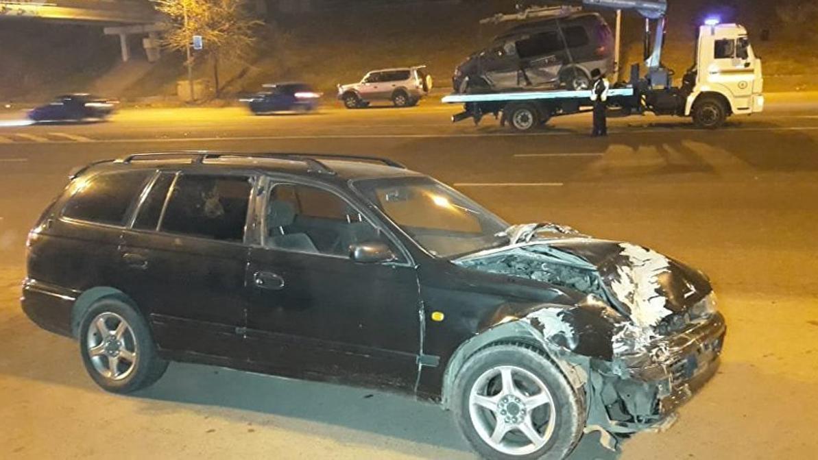 Тройное ДТП произошло в Алматы