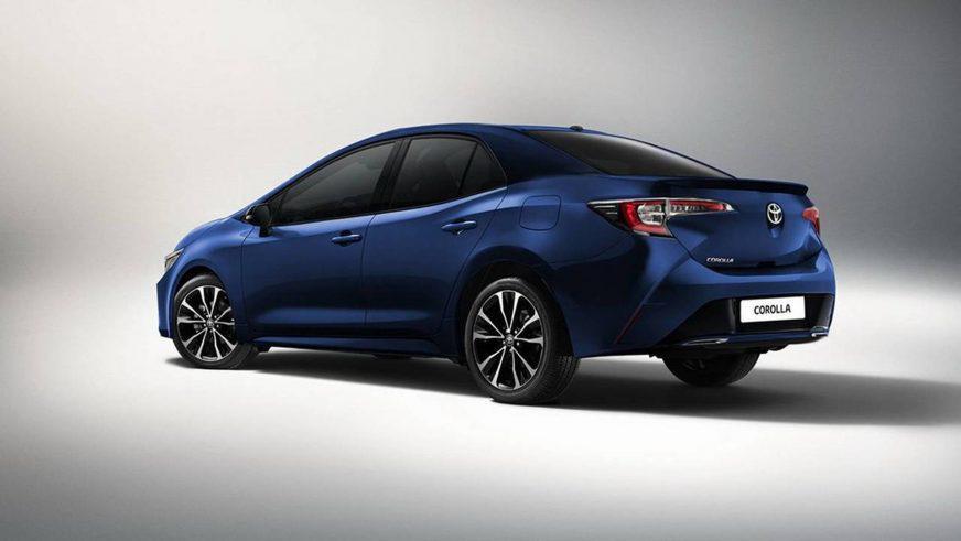 Новый седан Toyota Corolla покажут 15 ноября
