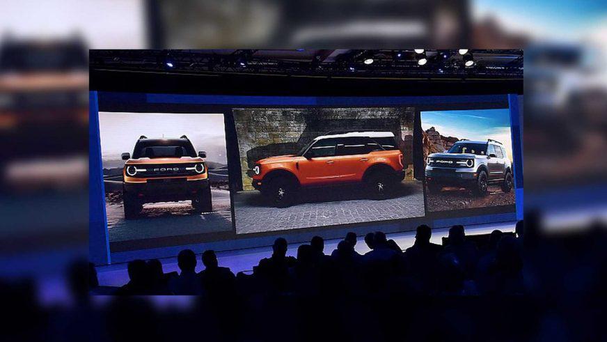 Возрождённый Ford Bronco слили до премьеры?