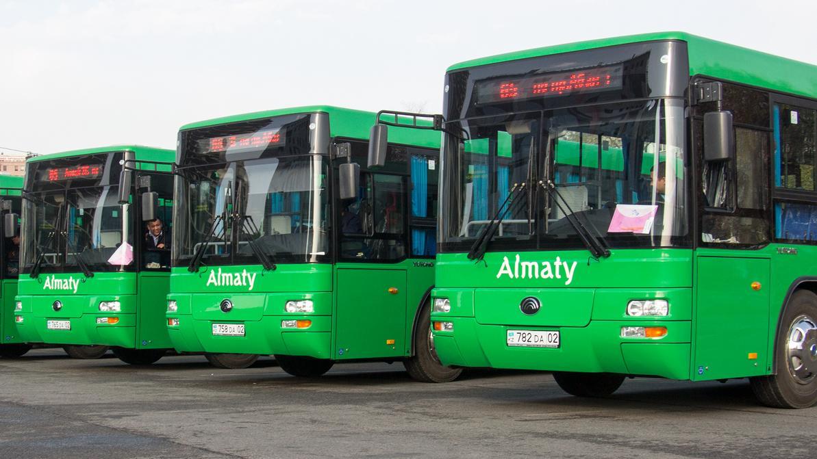 Алматинские автобусы не готовы к зиме