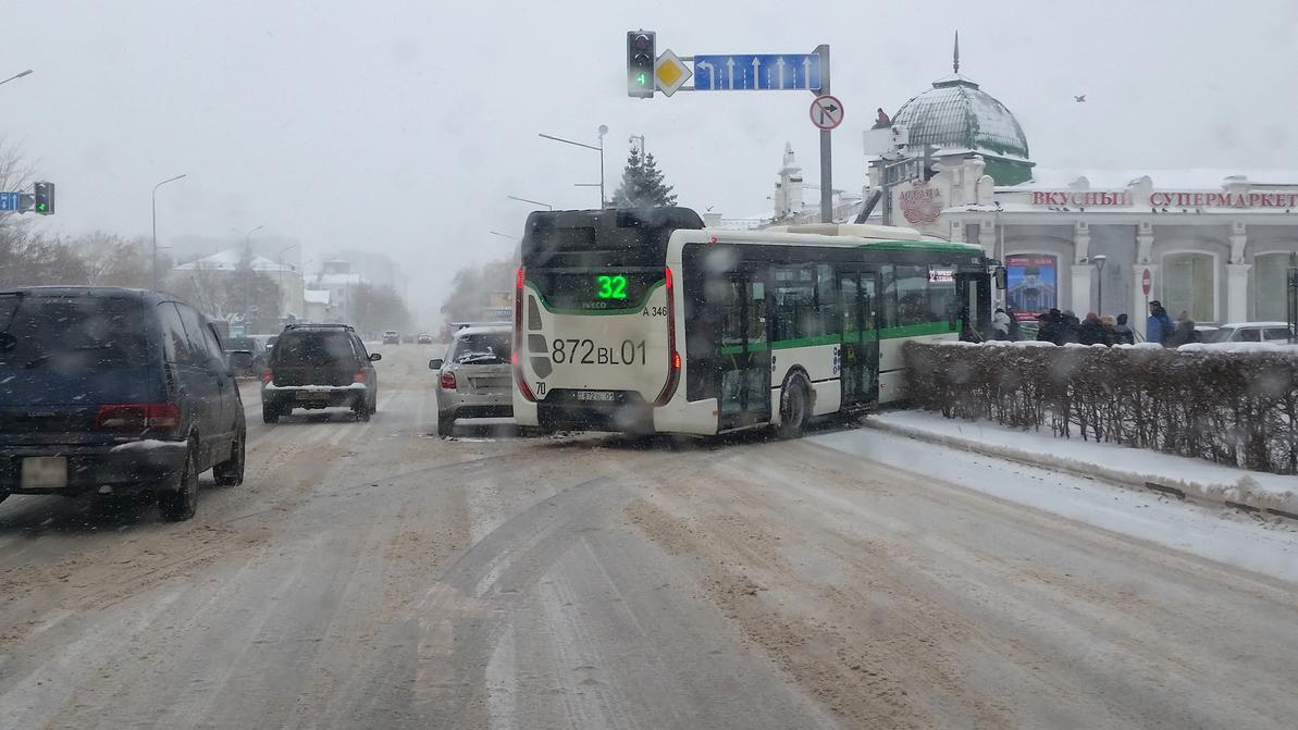 Непогода в Астане