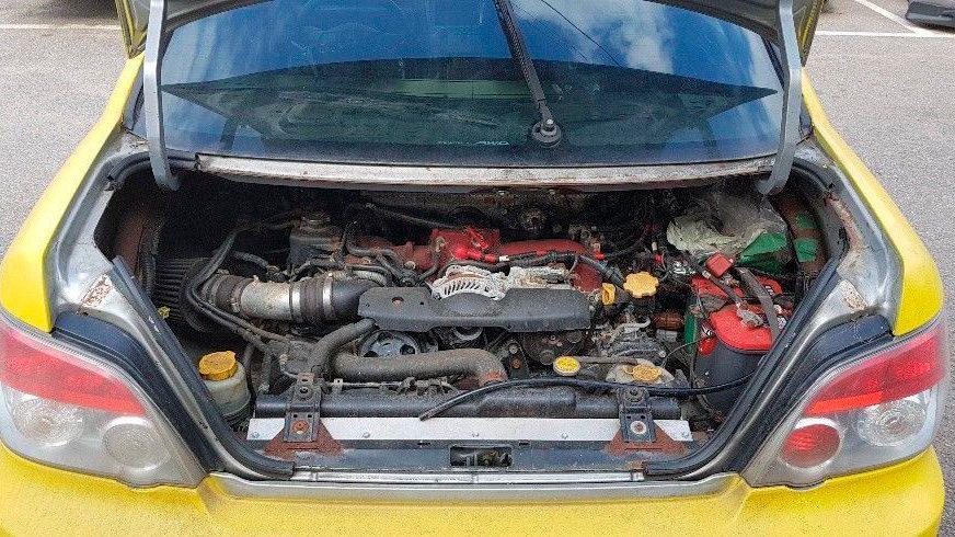 Уникальную Subaru из фильма Kingsman выставили на продажу