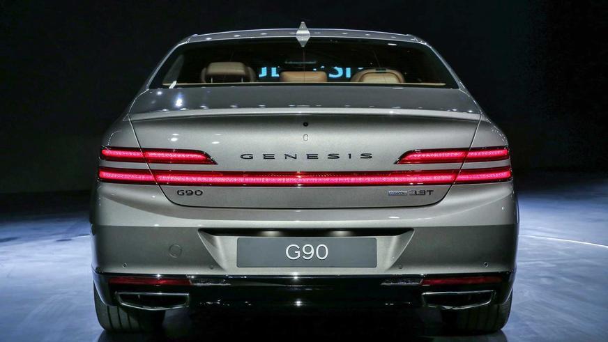 Genesis G90 сменил лицо