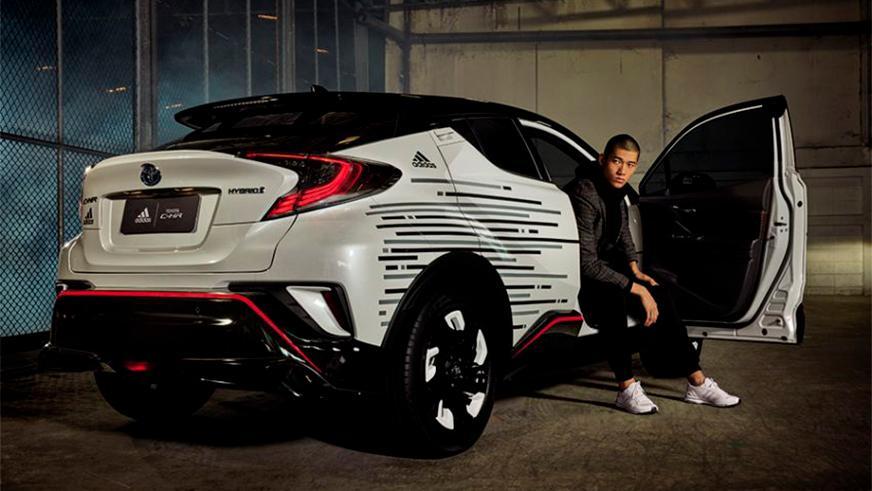 Toyota C-HR от Adidas