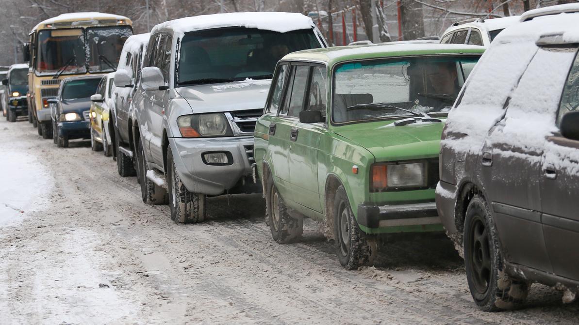 Гололедица ожидается на дорогах Казахстана