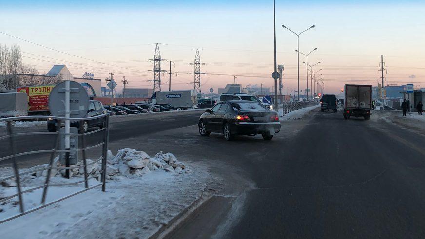Разворачиваться запретили на шоссе Алаш в Астане