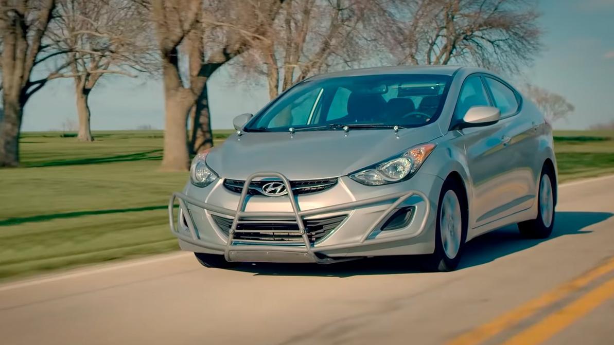 За пять лет Hyundai Elantra намотала более 1.6 млн км