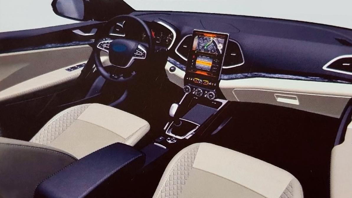 Lada Vesta получит вертикальный дисплей, как у Tesla
