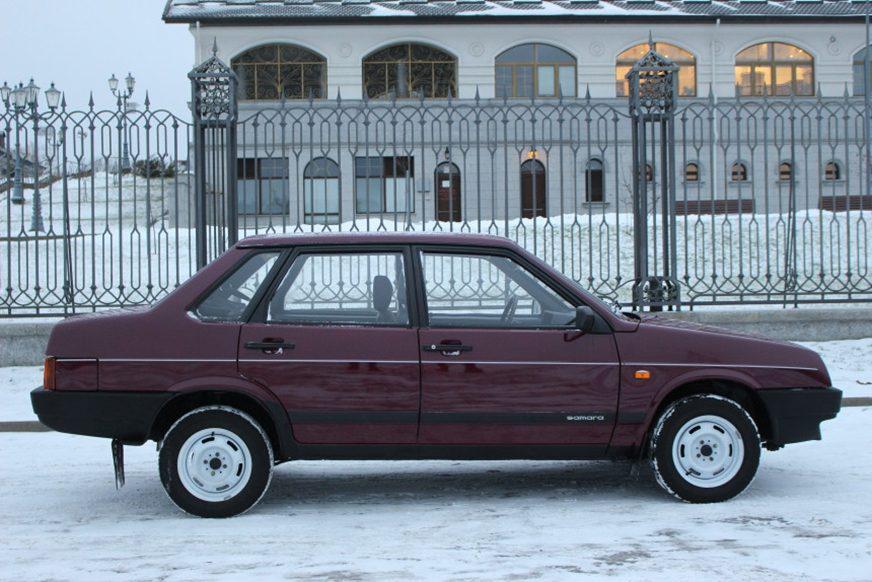 ВАЗ-21099 с небольшим пробегом продают всего  000