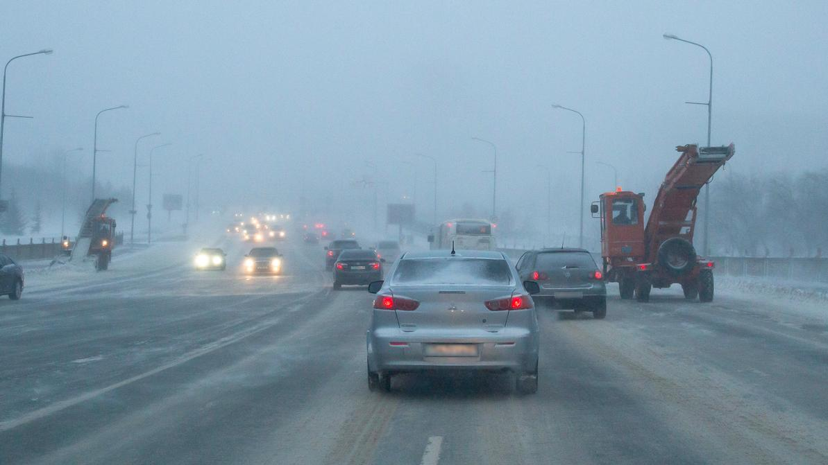 В Казахстан идут 40-градусные морозы