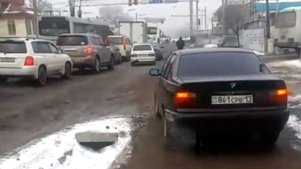«Пешеход» на BMW