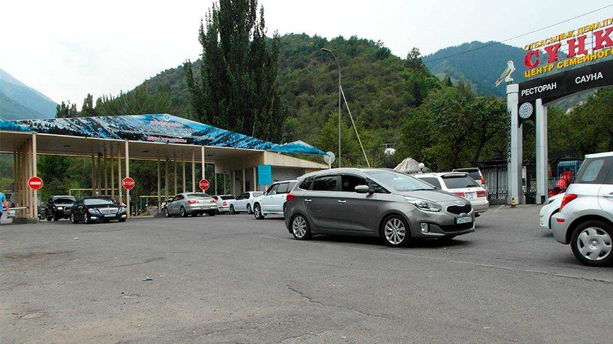 Камеры «Сергек» и турникеты появятся на въезде в Алмаарасан