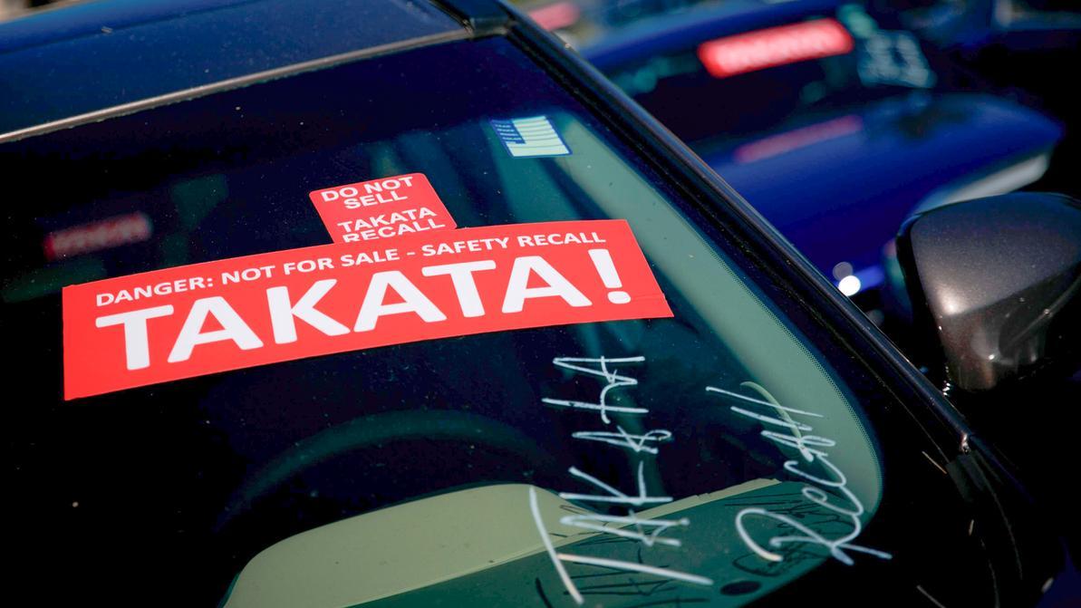 Ещё 1.7 млн авто отзывает Toyota из-за проблем с подушками Takata