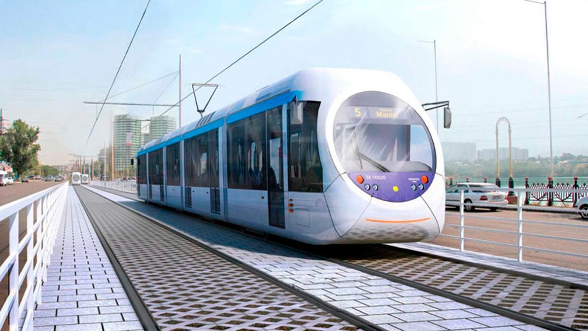 Прокладывать линию LRT в Алматы начнут в 2020 году
