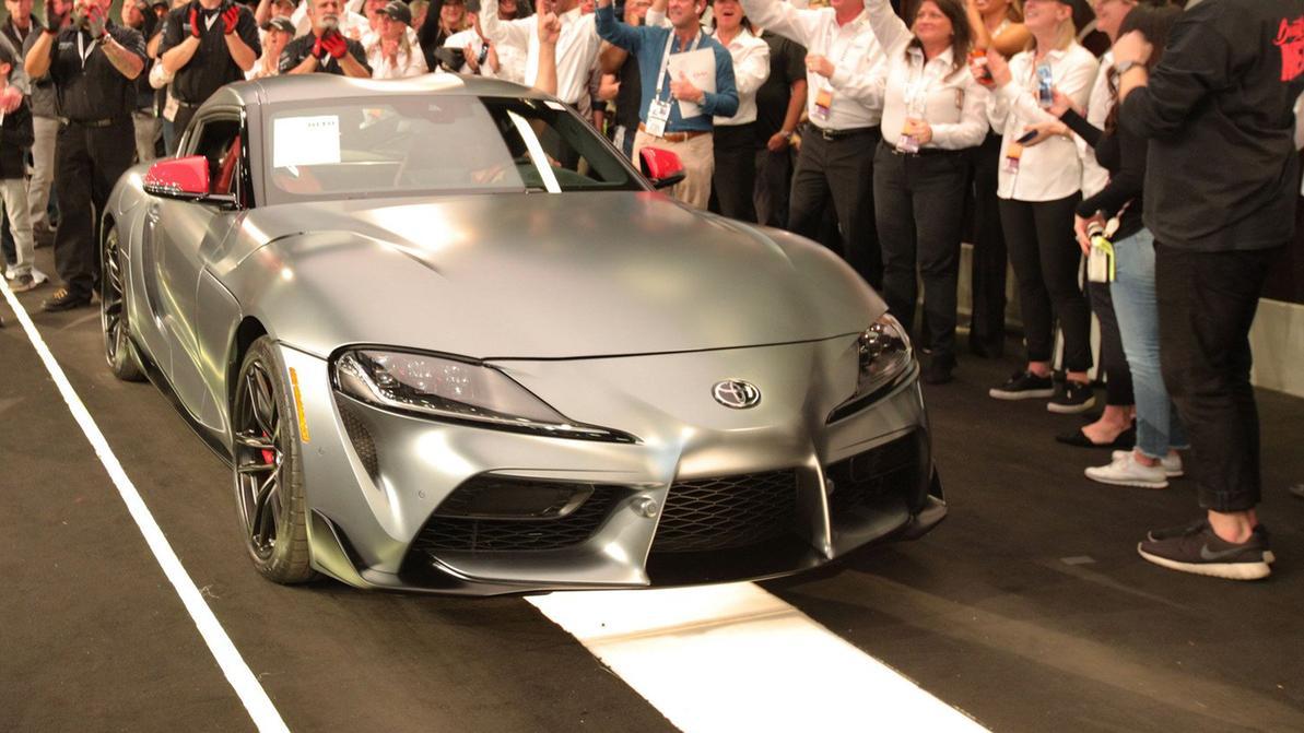 За первую Toyota GR Supra отдали $2.1 млн